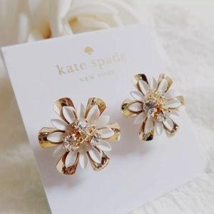 Stunning Kate Spade Flower Power Earrings NEW